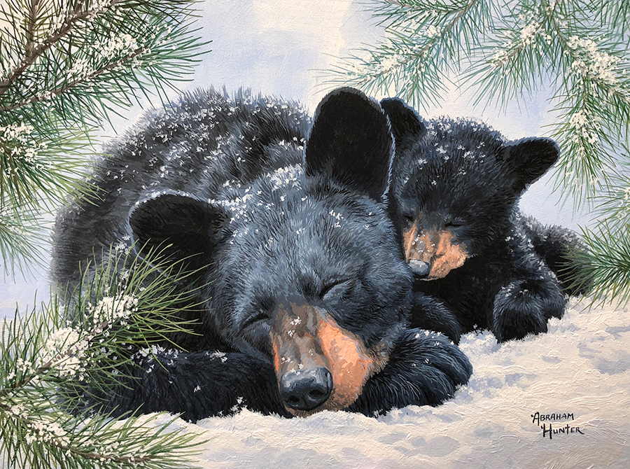 Winter Nap 9x12 Joomla